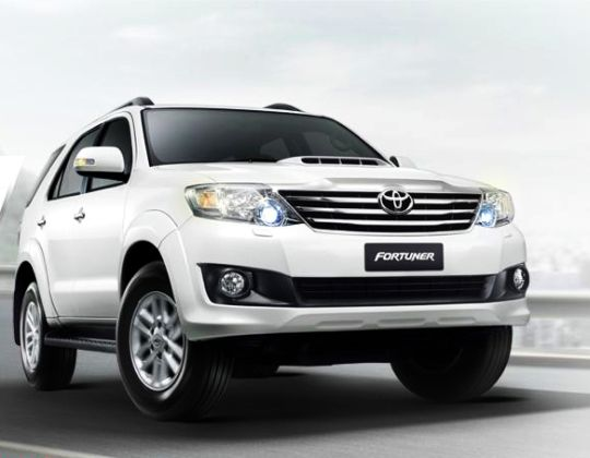 2012 Toyota Fortuner Crossover Sport Utility Vehicle Suv