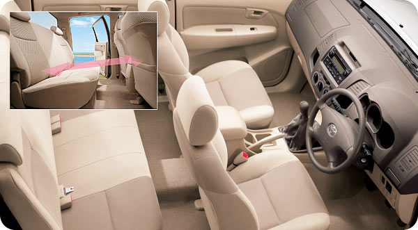 toyota vigo provides car like comfort - Jim Autos is Thailand's largest used and new vigo exporter